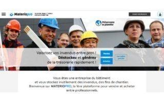 Materiopro : Le premier réseau d'invendus entre pros du bâtiment