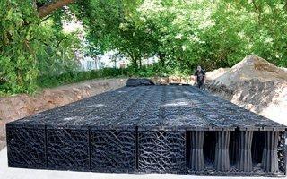 ACO Stormbrixx SD : la solution durable pour un bassin de stockage des Eaux Pluviales