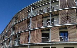 L'architecture remarquable du spécialiste belge de la protection solaire franchit les frontières du pays