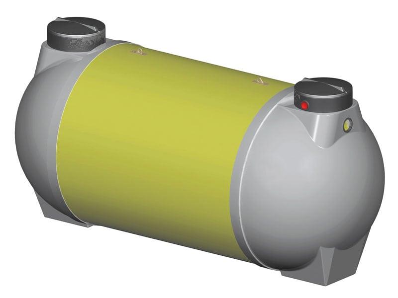 La fosse toutes eaux en polyester Sebico (70000 L) : une solution idéale pour prétraiter les eaux usées d'une pisciculture - Batiweb
