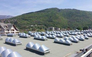 Le lycée du Nivolet sous une nouvelle lumière naturelle