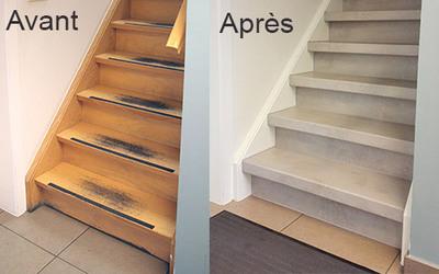"""Romus® présente """"MAËSTRO"""", une solution déco pour rénover facilement et durablement un escalier. Batiweb"""