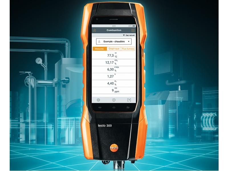 Testo 300 & Testo 300 LL : nouvelle gamme d'i-analyseurs de combustion réellement intelligente ! - Batiweb
