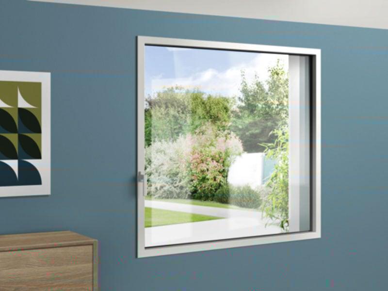 siMple, la fenêtre : INVISIBLE | FINE | SOLIDE