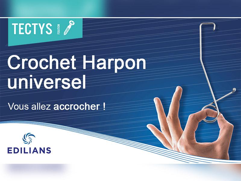 Crochet Harpon universel : la nouvelle solution de fixation pour vos tuiles ! - Batiweb