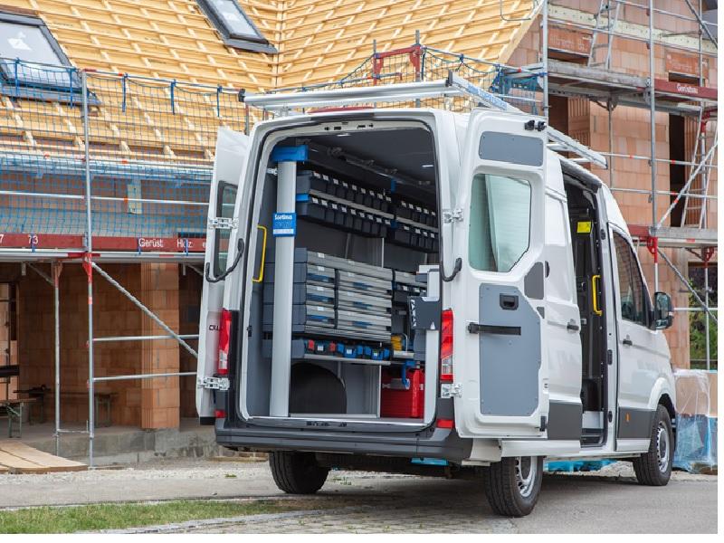 SR5 : La nouvelle gamme d'aménagements Sortimo pour véhicules utilitaires pour une productivité maximale - Batiweb