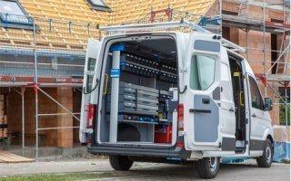 SR5 : La nouvelle gamme d'aménagements Sortimo pour véhicules utilitaires pour une productivité maximale
