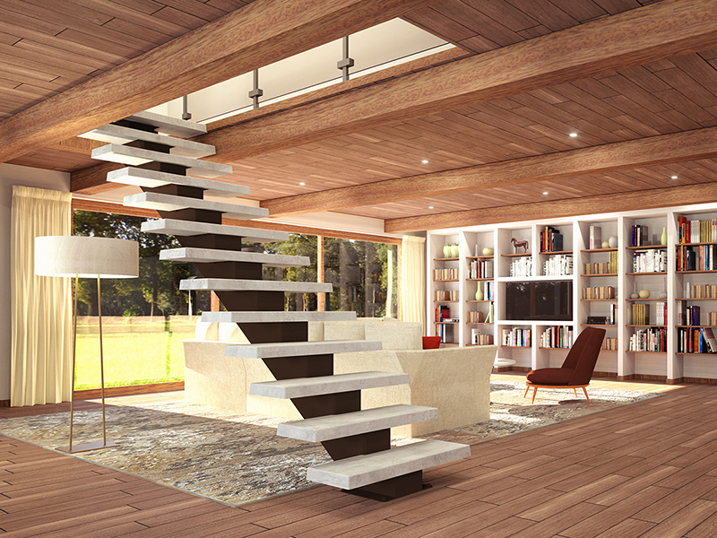Les escaliers SoLoft : personnalisables et novateurs