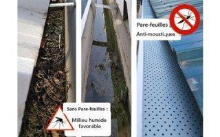 Optimisation des gouttières, un accessoire innovant et anti-moustique
