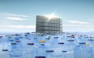 """KP1, créateur des premiers entrevous légers """"EMS EcoVS"""" intègre aujourd'hui de la matière recyclée dans sa fabrication"""