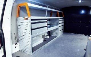 Aménagement utilitaire : l'acier au prix du bois, les nouvelles solutions d'équipement. Batiweb