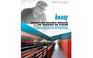 Grands espaces à aménager : le guide technique des solutions en plaques de plâtre KNAUF répond à tous les projets d'envergure