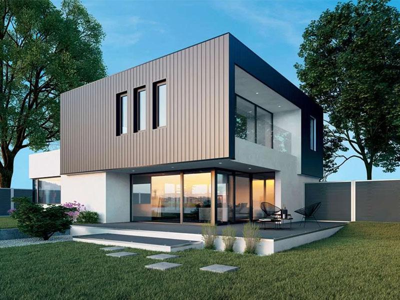 Nouveau bardage aluminium haut de gamme chez Deceuninck - Batiweb