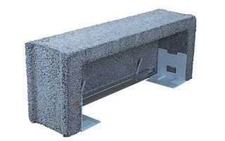 Prefatec PLS : le coffre demi-linteau monobloc béton indispensable pour la pose de volets roulants