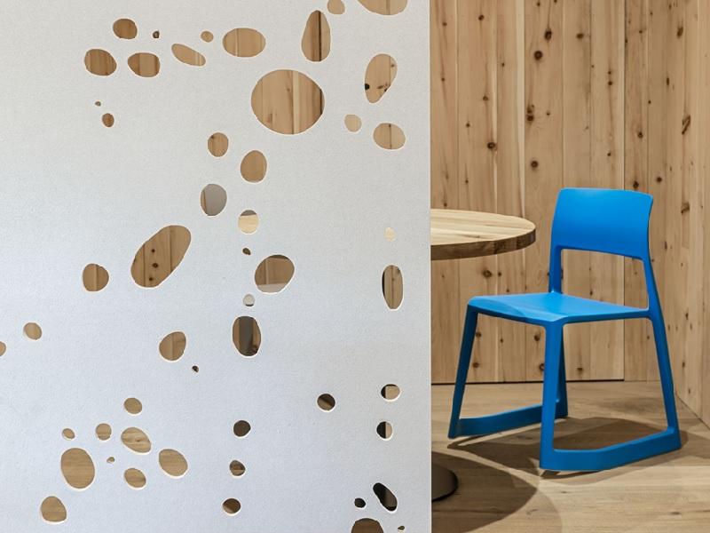 Concrete skin breeze – les panneaux perforés en béton armé de fibres de verre - Batiweb