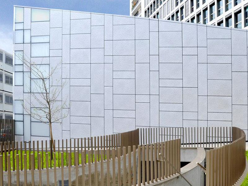 Le BAO Papyrus de Carea Façade utilisé pour la construction des nouveaux bureaux RMN (75) - Batiweb