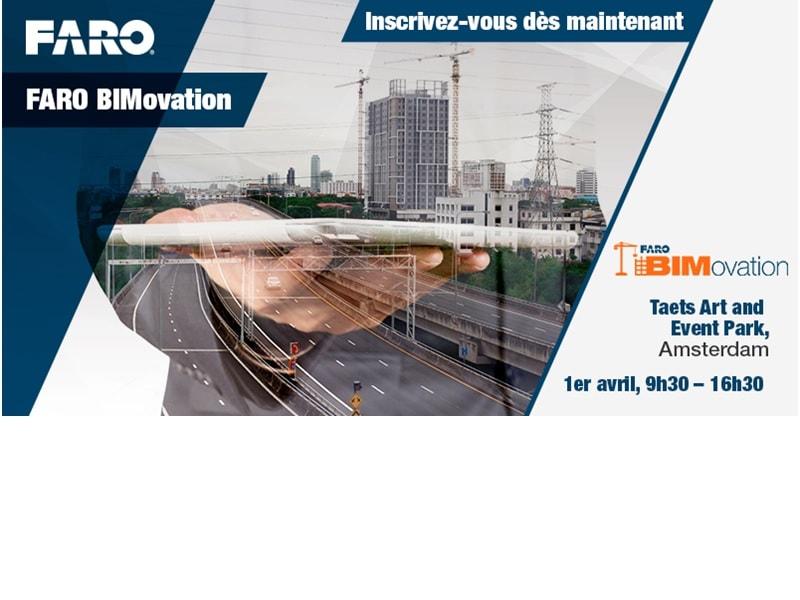 FARO organise son roadshow BIMovation lors d'un événement pré-conférence au Geospatial World Forum