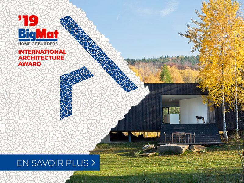 BigMat célèbre l'innovation et la créativité architecturale contemporaine avec son 4ème Grand Prix International d'Architecture