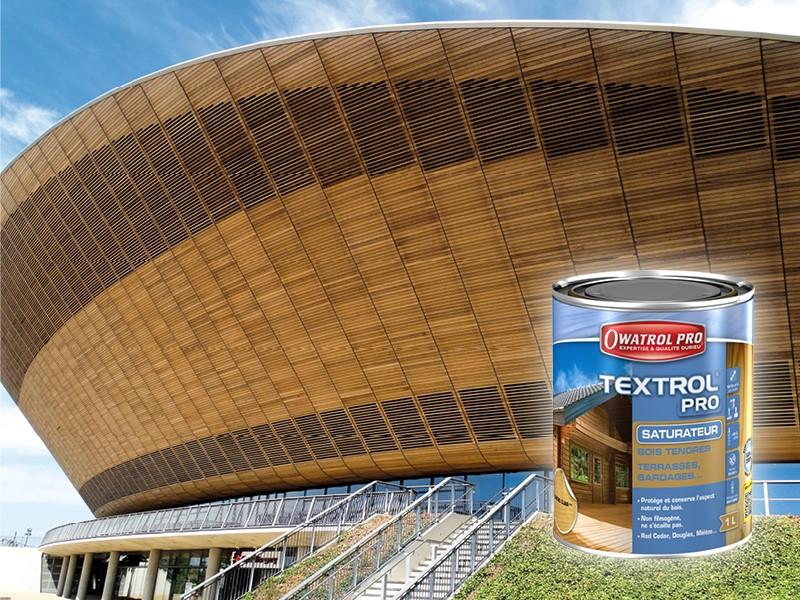 """Textrol® Pro Saturateur """"aspect huilé"""" pour bois tendres - Batiweb"""