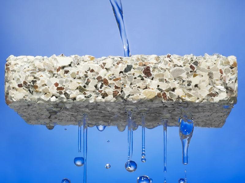 IDRODRAIN, le béton qui draine l'eau !
