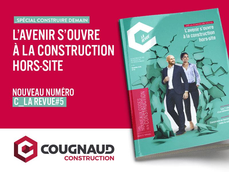Construire demain : l'avenir s'ouvre à la construction hors-site