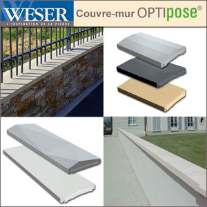 Les Chaperons De Murs Optipose Weser