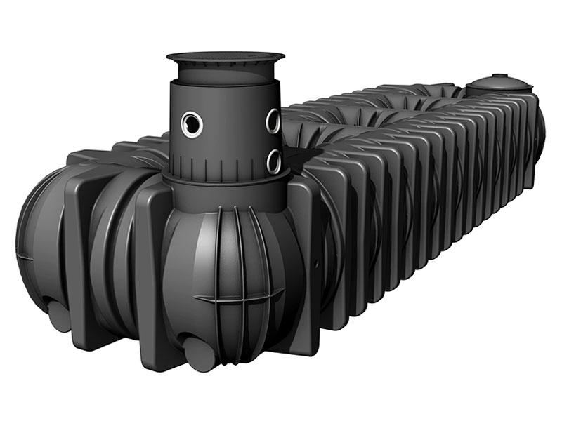Cuves Platine XL et XXL - La solution extra‐plate haute capacité jusqu'à 65 000 litres