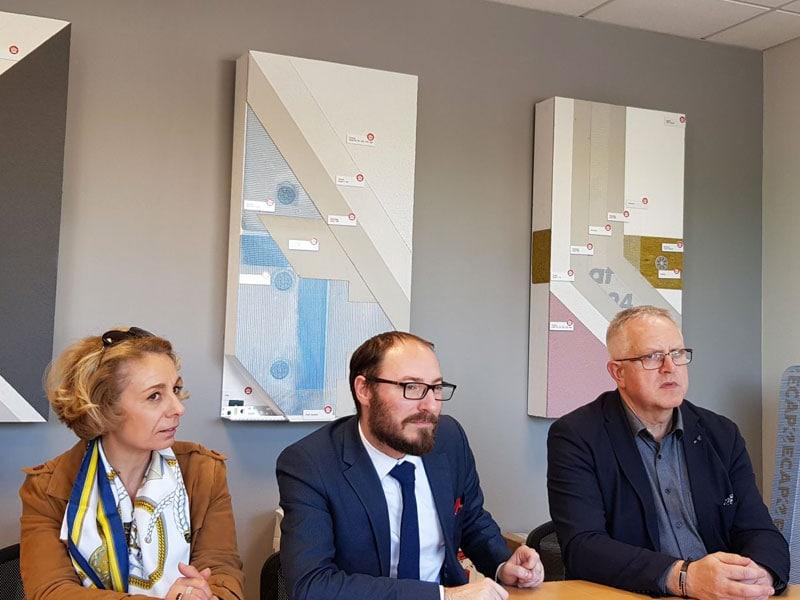 EDILTECO FRANCE a reçu le député LREM Denis Masseglia, une occasion de faire le point sur les forces et faiblesses d'une PME française - Batiweb