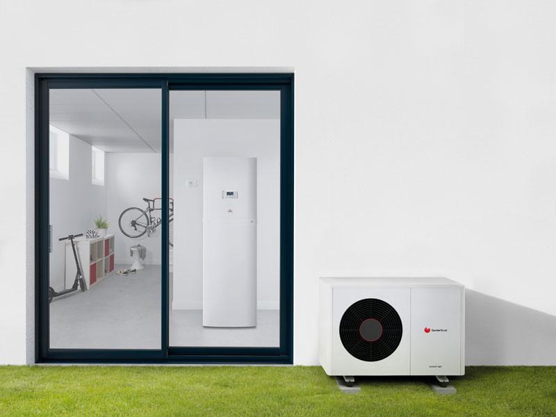 GeniaAir Split - La solution flexible de chauffage et rafraîchissement conçue pour répondre à toutes les contraintes d'installation - Batiweb