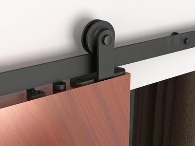 Ferrures de porte coulissante Bario : des design noir mat pour avoir la touche tendance ! Batiweb