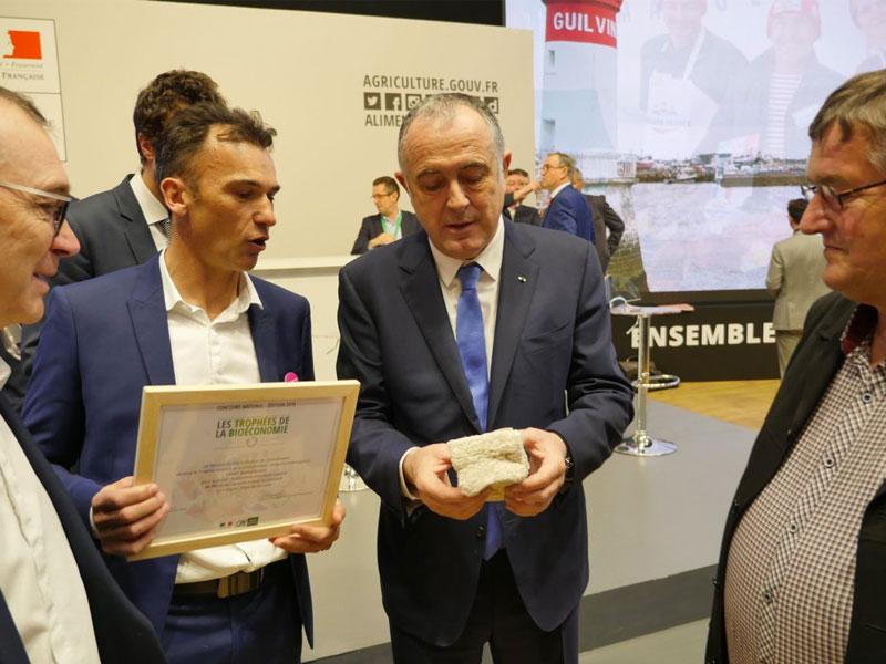 Trophées de la bioéconomie : Biofib récompensé !
