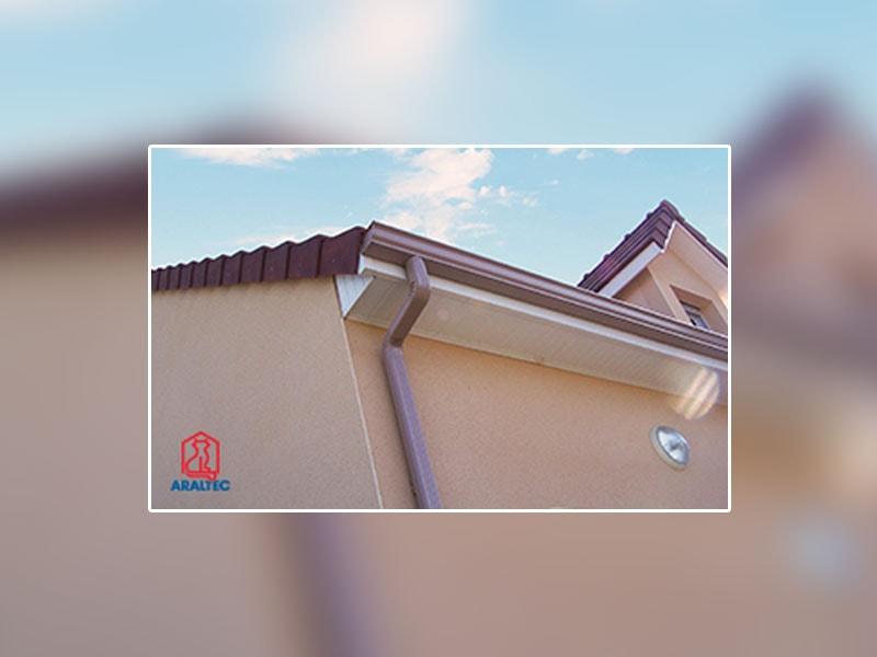 Gouttière et Couvertine en aluminium laqué : découvrez le procédé Araltec de profilage sur-mesure directement sur le chantier ! - Batiweb