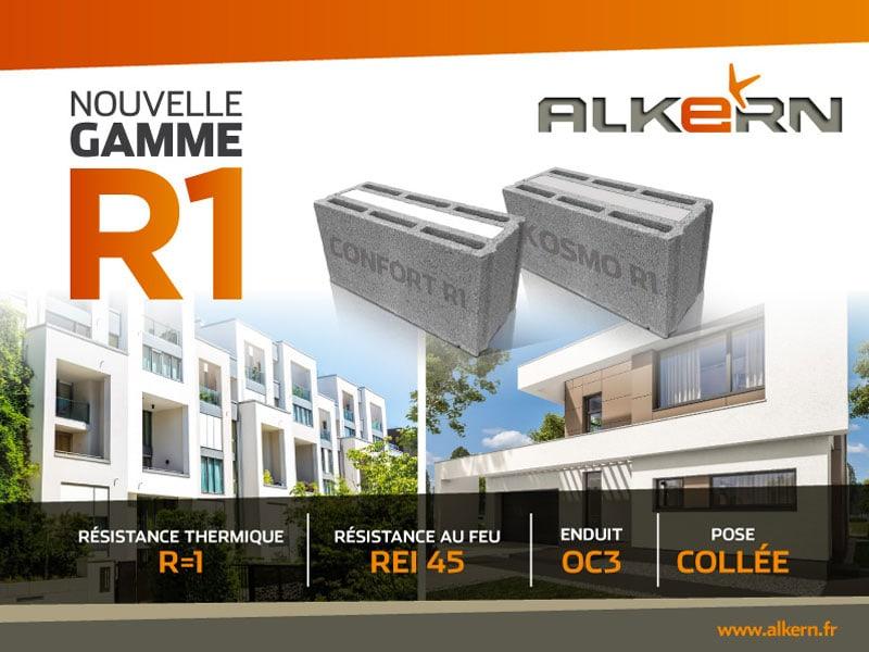 ALKERN lance la gamme R1 pour la maison individuelle et le collectif