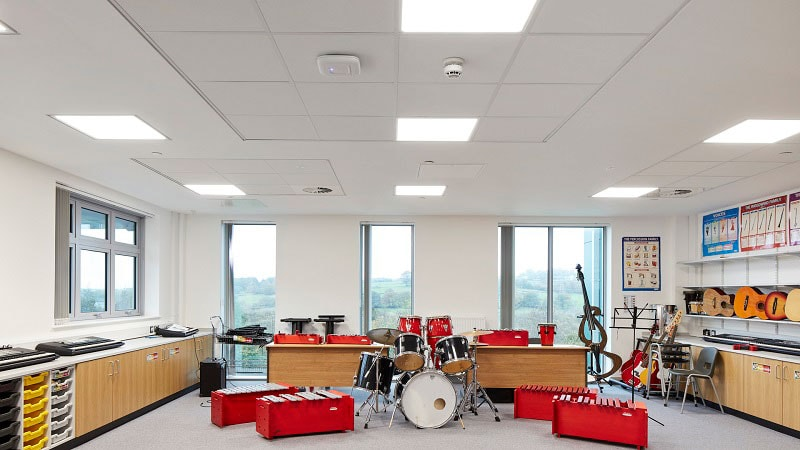 Об акустических подвесных системах Rockfon