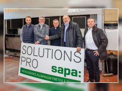 Le réseau de fabricants Solutions Pro Sapa renforce son maillage avec l'arrivée de son nouvel adhérent TY ALU en Bretagne Batiweb