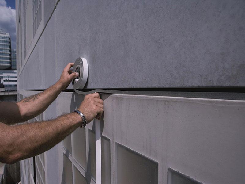 Joints de façade : les avantages de la mousse imprégnée