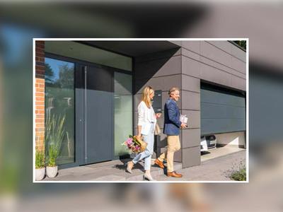 Porte d'entrée ThermoPlan Hybrid d'Hörmann : rare élégance, isolation et sécurité optimales Batiweb