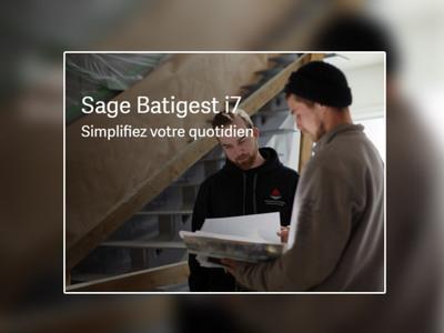 Sage Batigest i7 intègre Chorus Pro ! Batiweb