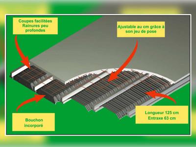 PlastiVS pour Plancher Haut vide sanitaire Batiweb