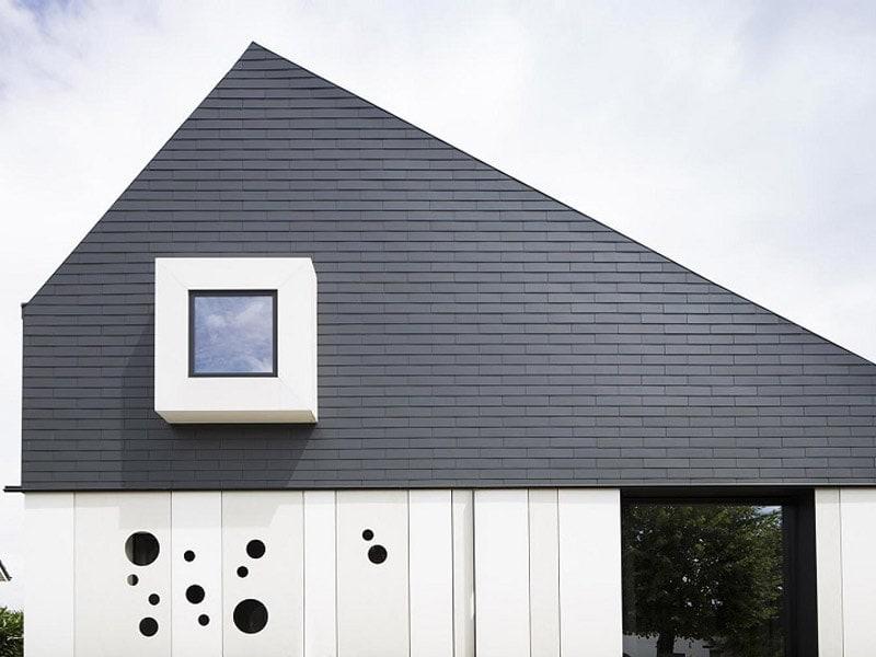 Jouez avec les Ardoises Vertigo TECTA pour une façade unique