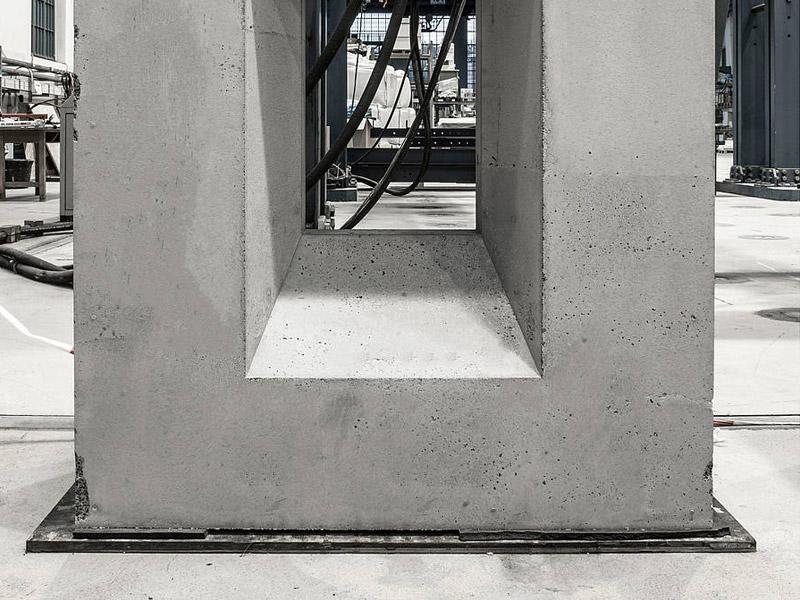 Béton infralight - nouveau potentiel pour les façades en béton apparent
