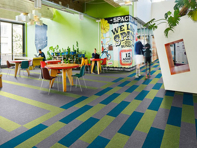Flotex colour de Forbo Flooring : place à la couleur Batiweb