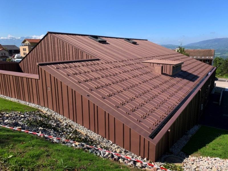 Habiller les façades ou les toitures de zinc n'a jamais été aussi facile - Batiweb