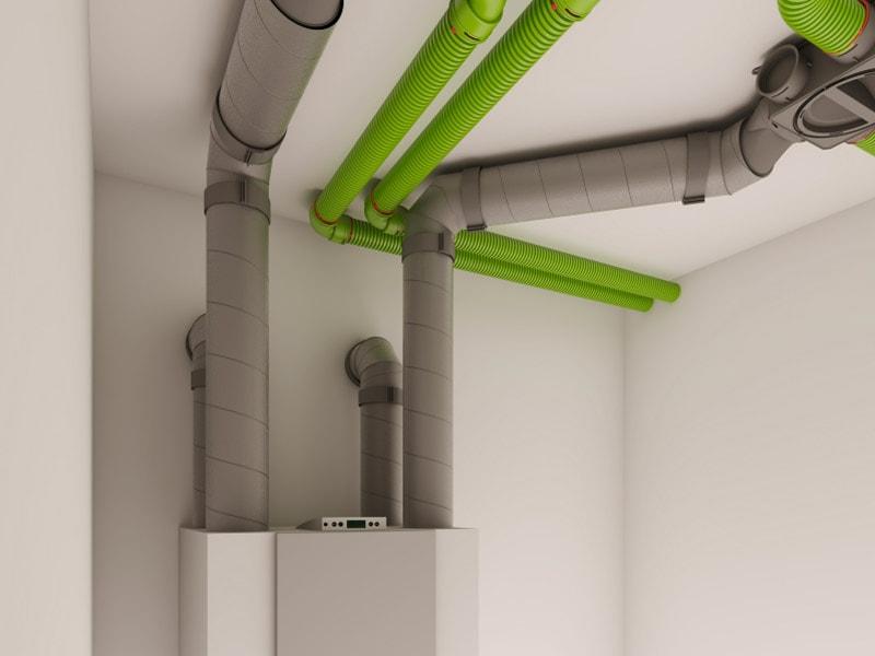 Gamme AERFOAM d'UBBINK : système de ventilation isolé à l'empreinte carbone nulle