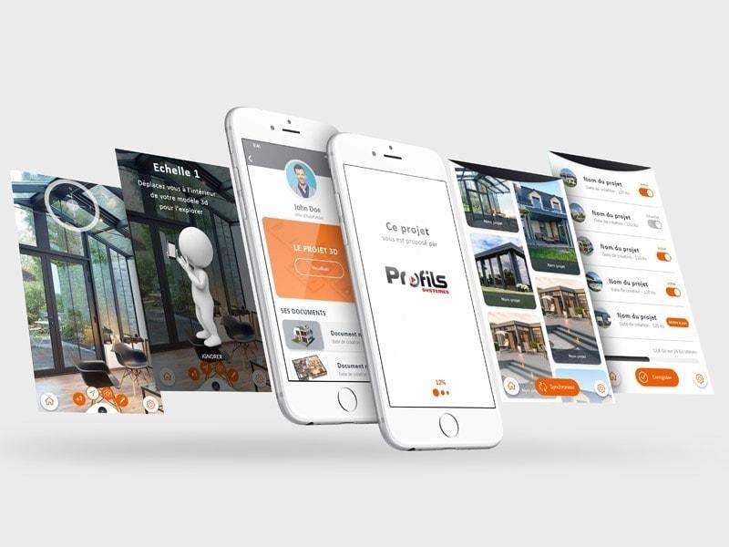 PROFILS SYSTEMES® 3D - tout savoir sur la nouvelle version de l'appli