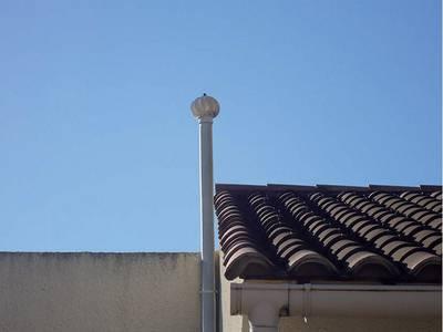 Aspiromatic modèle 100 - Extracteur éolien pour la ventilation Batiweb