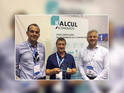 La suite logicielle KALCUL distinguée par une Médaille d'Or au Congrès National de l'UNTEC Batiweb