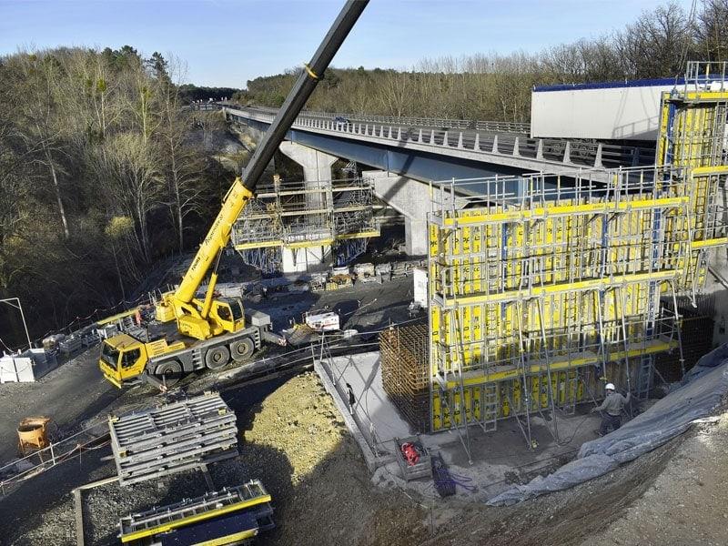 Construction de pont avec BIM - Batiweb