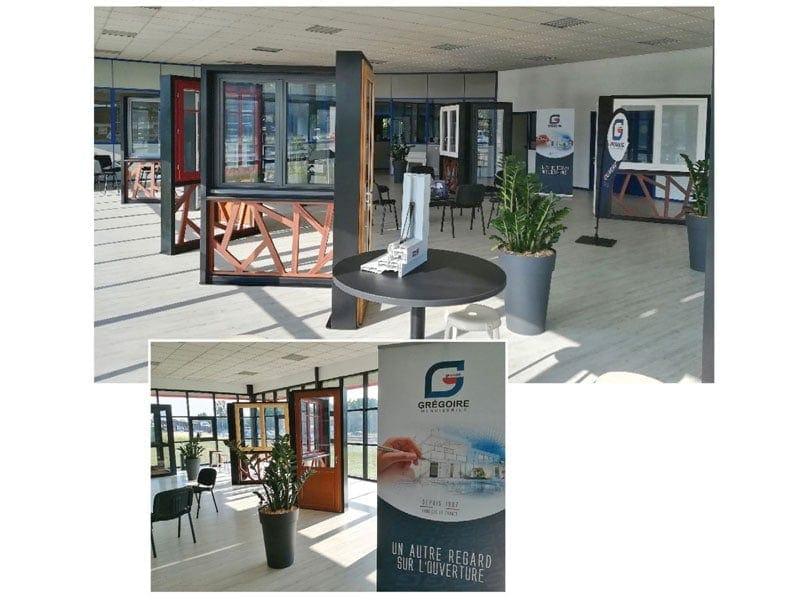 Les Nouvelles menuiseries Grégoire ont entamé la rénovation de leurs show-rooms