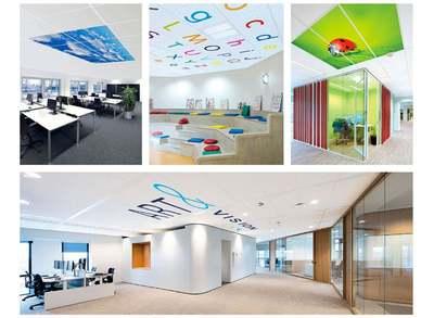 EUROCOUSTIC réinvente le plafond avec sa nouvelle offre décorative Batiweb